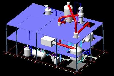 Evaporator and evaporator system